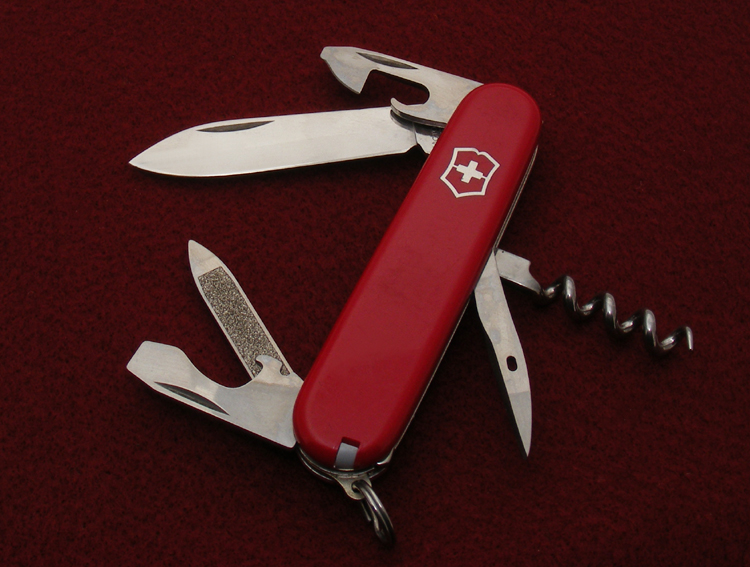 Victorinox 84mm Sportsman with keyring