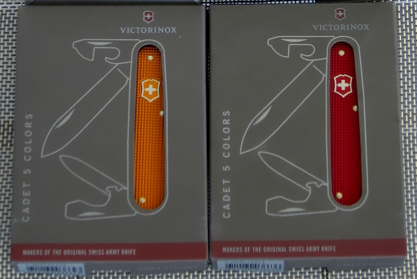 Victorinox Cadet - 5 Color Series 2012 - Special Box Packaging