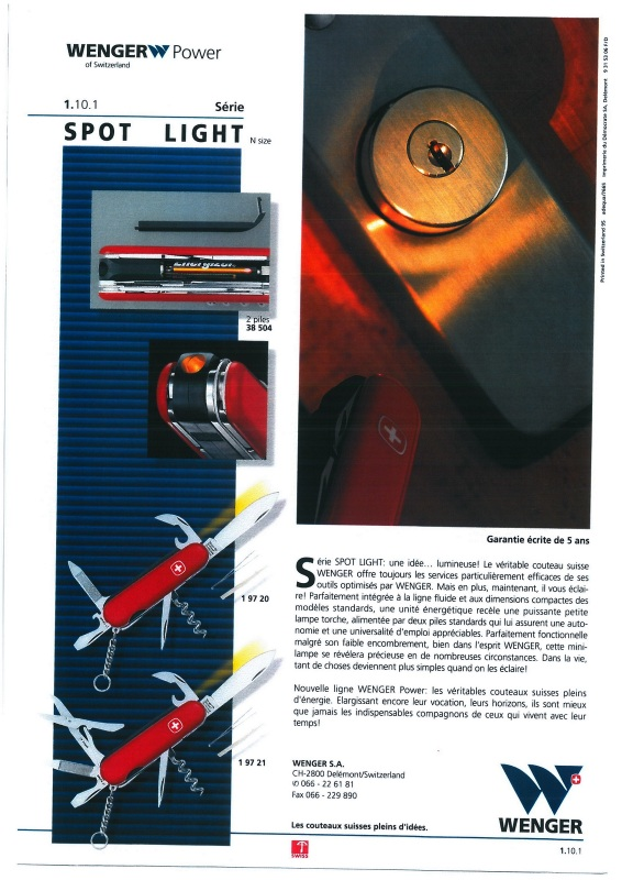 Spot Light with Scissors Catalog Information