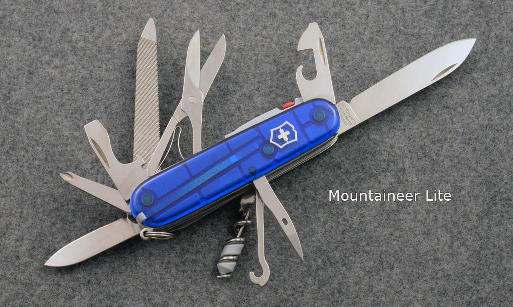 Victorinox Mountaineer Lite. Picture by jazzbass