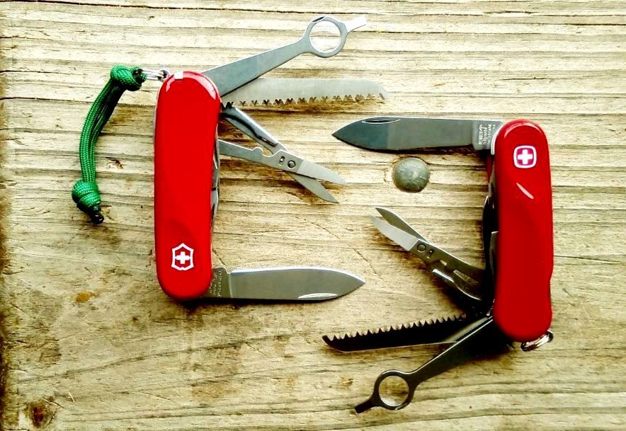 Victorinox Delémont Evolution 23 and Wenger Evolution 23
