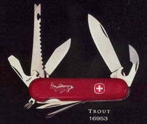 This is the Wenger Trout fishing knife, 16953.