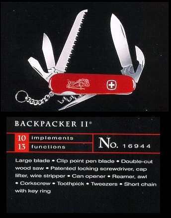 Wenger Backpacker II