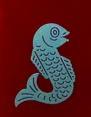 Fish Emblem Inlay